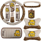 10pcs Set Cute Cartoon Mickey Hello Kitty Car Seat Cover Interior Accessories