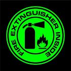 Fire Extinguisher Inside Decalsticker Car Truck Window Suv - Many Colorssizes