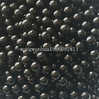 Free Shipping No Hole Pearl Round Spacer Loose Beads 1.5mm-14mm 16 Color