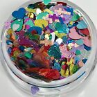Pink Red Chunky Heart Glitter Mix Nails Solvent Resistant Nail Art Design Usa