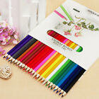 24 Colors Fabercastell Colored Pencils Water-color Drawing Set Stationery W