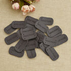 20pcs Pu Leather Tags Handmade Sewing Labels Patches For Diy Craft Supplies