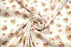 Pink Perforated 100 Cotton Lawn Fabric Floral Embroidered 54w Sheer Apparel