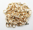 Lobster Clasp 50pcs Suitable For Necklace Bracelets Jewelry Diy 10mm 12mm 14mm