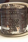6mm 14 Flat Sequins On String - 100 Yard Roll - Made In Usa