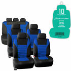 3 Row Suv Seat Covers For 7 Seaters Suv Full Set 12 Colors W Free Gift