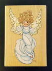 Vintage Stampendous Precious Moments Wood Mounted Rubber Stamps From 1990s Euc