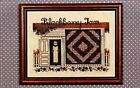 Told In A Garden Amish Cross Stitch Charts By Marilyn Leavitt-imblum Used