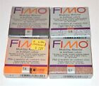 Fimo Clay Modeling Molding Oven Baked Blocks Of Clay Lot Of 4 New Choose