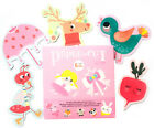 Cute Beauty Paper-cut Kids Handmade Diy Educational Making Kit Boy Girl Version