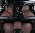 For Toyota Tundra 2007-2018 Leather Car Floor Mats Waterproof Mat