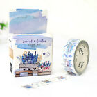 Floral Plants Washi Sticker Roll Paper Masking Tape Adhesive Crafts Decorative