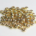 New Platinum Rose Gold Spacer Beads Rubber Locks Stoppers For Bracelet Necklace
