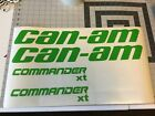 Can-am Commander Replacements Decal 2 2 Tall X 14 Long 2 1 X 11