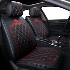 Car Seat Cover Set Universal Leather Accessories Fit For Jeep Renegade Compass