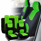 Auto Seat Covers For Car Truck Suv Van Universal Protectors Polyester 11 Color
