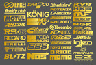 Automotive Sponsor Jdm 39 Decals Stickers Pack V1 Car Racing Turbo Drift