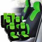 Auto Seat Covers For 3 Row Suv Van Universal Protectors Polyester 11 Colors