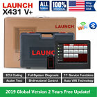 Launch X431 V Crp129x Obd2 Auto Diagnostic Scanner Code Reader Ecu Key Coding