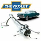 1962-67 Chevy Ii Nova 33 Chrome Tilt Steering Column Shift Gm Z03 Acadian Canso