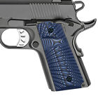 Grips For 1911 Compact Officer - Custom G10 - Thumb Groove - Select Color Sbst