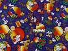 Halloween Peanuts Snoopy Lucy Charlie Brown Cotton Fabric - 14 Yard - Ooprare