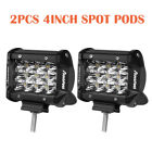 Tri-row 24inch 7 Combo Spot Flood Led Light Bar 4 Pods Truck Suv Fogdriving