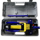 Car Jack Lift 2 3ton Electric Hydraulic Floor Jack Impact Wrench Tire Tool Kit