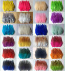 Beautiful 50pcs100pcs Rooster Tail Feathers 10-15cm 4-6inch 30 Colors