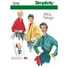 Simplicity Sewing Patterns Misses Vintage Retro Clothing 1950s Dress Bra Top S