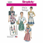 Simplicity Sewing Patterns Misses Vintage Retro Clothing 1950s Dress Bra Top