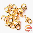Wholesale Lobster Clasps Hooks Jewelry Necklace Bracelet Brass All Size