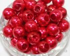Acrylic Faux Pearl Diy Jewelry Making Large Hole European Beads 12181416mm