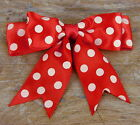 25 X 95mm Large Double Bows Satin Ribbon Bows With Tails - 4 Wide Beautiful