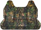 Afcc Ford F 150-250-350 Camouflage Bench Seat Cover Molded Headrest 24 Colors
