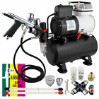 Ophir Airbrush Kit Air Brush Compressor With Fan For Temporary Tattoo Body Paint