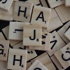 Scrabble Tiles Individual Piece Letters Replacement Or Crafts Wood Wooden Used