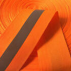 Wholesale Reflective Fabric Tape Strap Webbing Sew On 50mm15mm