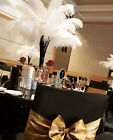 Newest White Ostrich Feathers 14-16 Inch35-40cm 1050100 Pcs Wedding Carnival