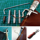 Vintage Leather Craft Tools Set Stitching Sewing Beveler Punch Working Hand Kits