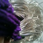 Sterling Silver Metallic French Wire Bullion Wire Gimp Wire 50400 Grams