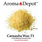 Carnauba Wax Flakes T1 100 Pure Natural Organic Multipurpose 1 Oz. To 15 Lbs