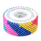 Lots Round Pearl Head Craft Dress Making Patchwork Straight Sewing Needle Pins