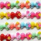 103050pcs Resin Flatback Cute Mouse Bow Butterfly Diy Accessory Craft Decor