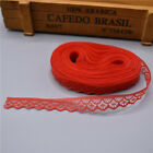 Hot10 Yards Lace Ribbon Width 14mm Trim Fabric Embroidered For Sewing