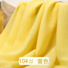 Soft Chiffon Georgette Voile Fabric Tulle Wedding Lining Material Sheer 4060