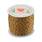 Diy Waxed Cotton Cord Wire Thread Beading Macrame String Jewelry 0.8mm X 45m
