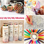 48 Professional Wood Soft Pastel Colored Pencils For Drawing School Stationery