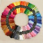 Lot 150 Colors Cross Stitch Cotton Hand Embroidery Thread Floss Sewing Skeins Us