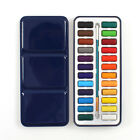 121824 Watercolor Paints Set Tin Box Solid Sketch Painting Stationery Artist